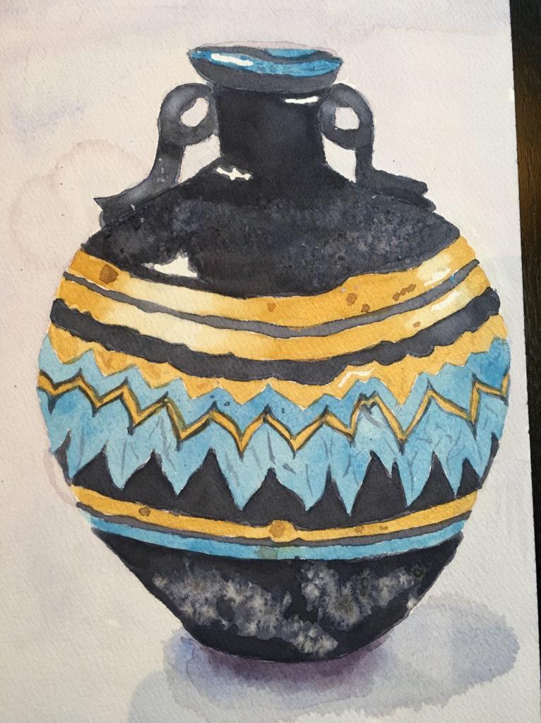 Cycladic Vase 2017